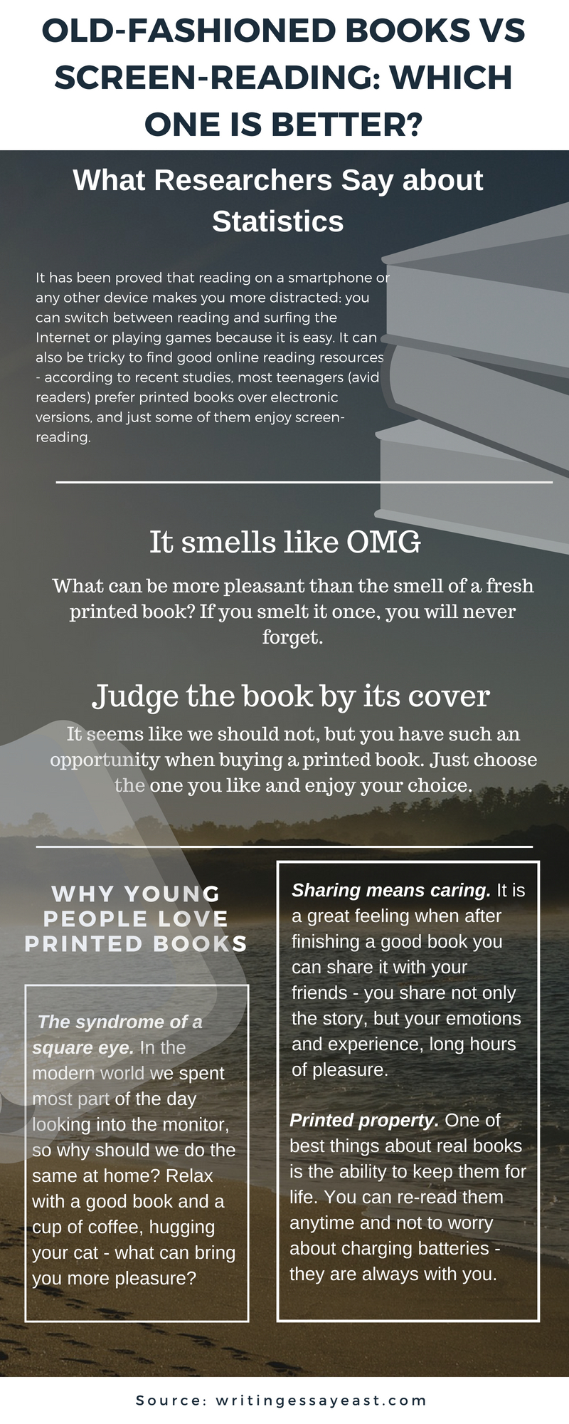 Old-Fashioned Books vs Screen-Reading: Which One Is Better?