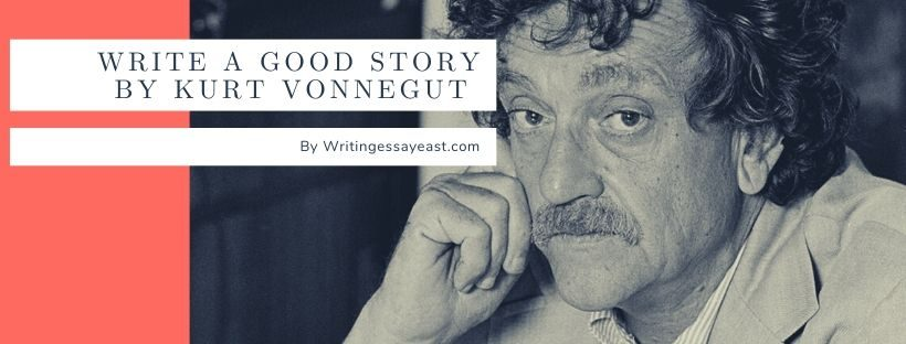 Banner dedicated to an article How to write a Good Story by Kurt Vonnegut