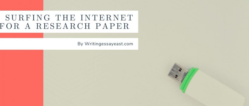 Surfing the Internet in Efficient Way for a Research Paper Banner For A Post