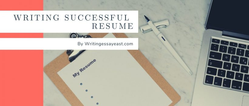 Banner for Writing Successful Application Letter or Resume WritingEssayEast