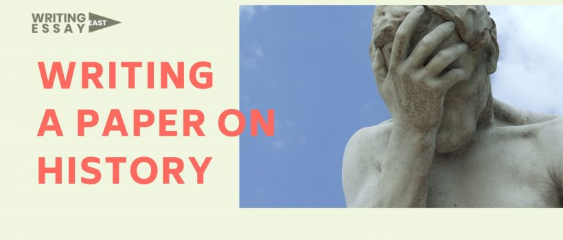 Banner for a Post for WritingEssayEast about writing an essay paper