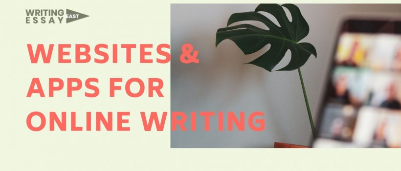 Banner for 15 Useful Websites and Apps for Online Writing Article